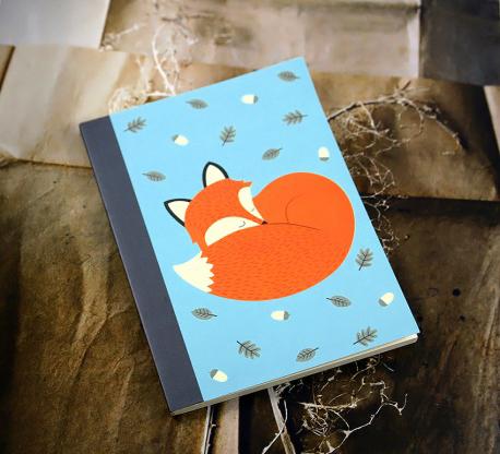 quaderno rusty the fox